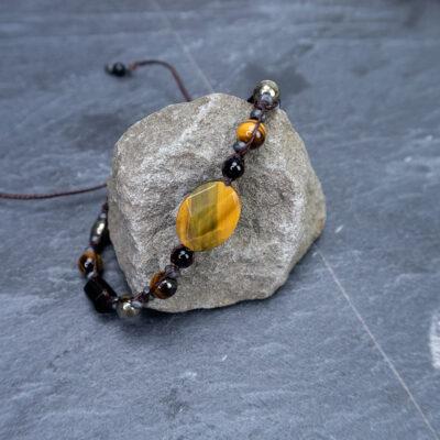 bransoletka męska amulet