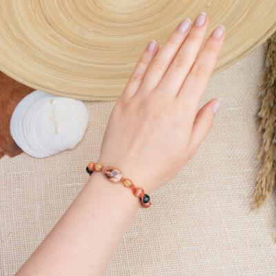letnia bransoletka handmade