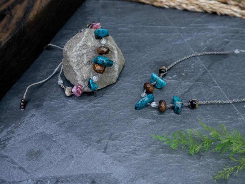 oryginalna biżuteria z kamieni naturalnych