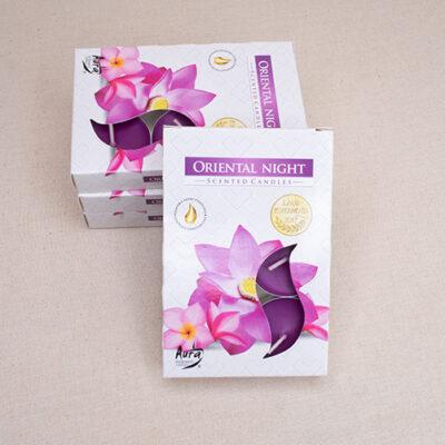 świece zapachowe tealight oriental night
