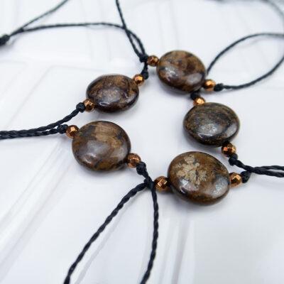Bransoletka bronzyt bransoletki kamienie naturalne bronzyt