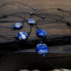 Bransoletka lapis lazuli bransoletki sznurkowe lapis lazuli
