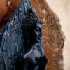 Stojący Buddha rzeźba ręce złożone anjali mudra