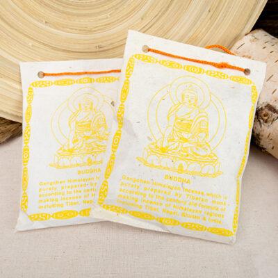 Tradycyjne tybetańskie kadzidło proszkowe sang Buddha
