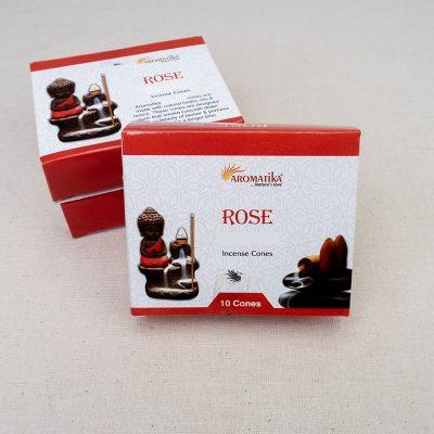 Kadzidła typu płynący dym Aromatika Róża