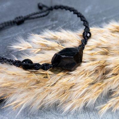 bransoletka-czarny-kamień